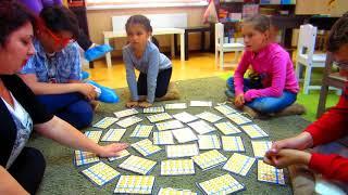 Игры с флеш картами на уроке ментальной арифметики.