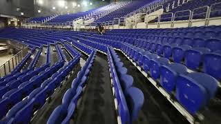 Upholstery cleaning in The Three Arena Dublin.
