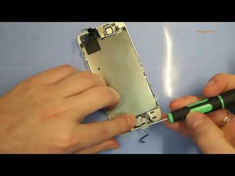 Замена кнопки Home на IPhone 5S, самостоятельная разборка и ремонт кнопки хом айфона 5S