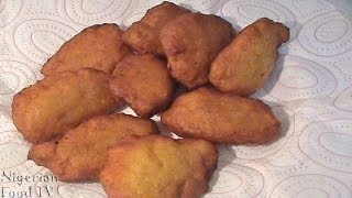 Nigerian Plantain Mosa: Nigerian Snacks Recipes