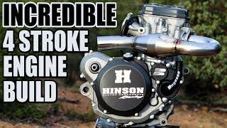 How to rebuild 4 stroke engine on a dirt bike - RMZ450 build