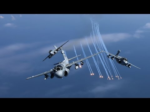 "EA-6B Prowlers in ""Final Four"" - Deactivation Flight Video"
