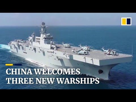 China's most advanced amphibious assault ship likely to be deployed in disputed South China Sea