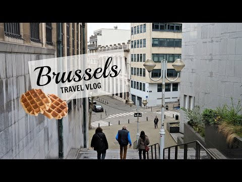 BRUSSELS TRAVEL VLOG | Rachel Silva
