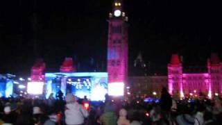 Olympic Torch at Parliament Hill - Ottawa