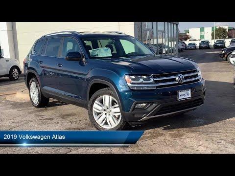 2019 Volkswagen Atlas 3.6l V6 Se W/technology Joliet Plainfield Shorewood New Lenox Channahon M