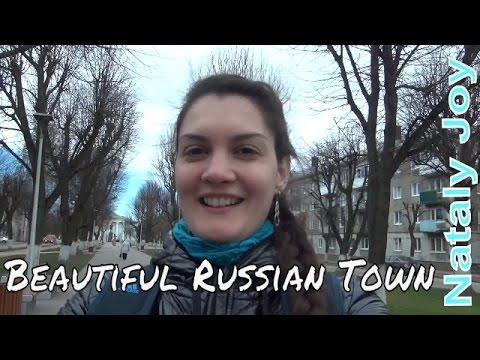 A walk in Svetly, Small Russian Town Near Kaliningrad (Rus sub)