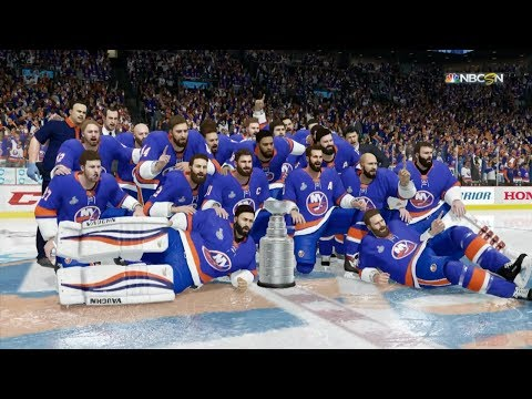 NHL 18 - New York Islanders Stanley Cup Celebration