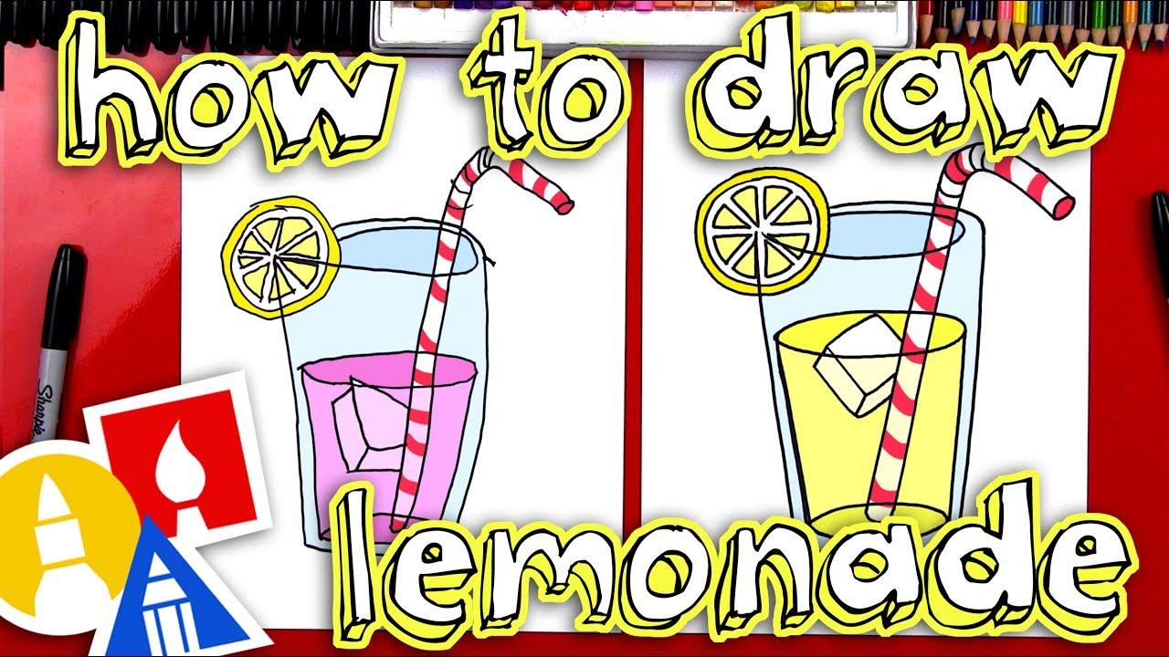 How To Draw Lemonade