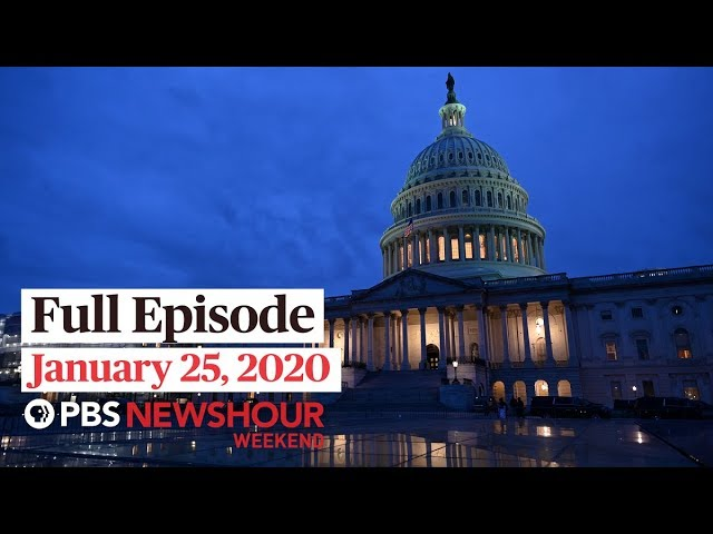 PBS NewsHour Weekend full episode January 25, 2019
