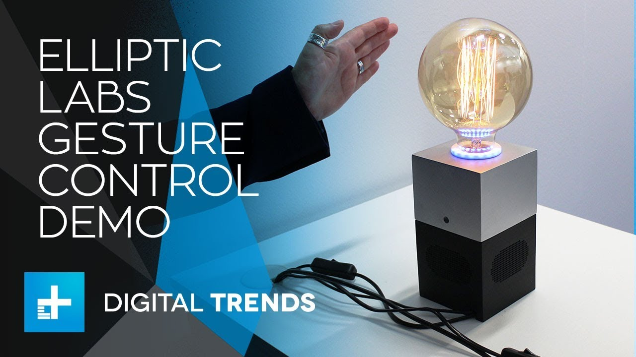 Elliptic Labs Gesture Control Demo at Mobile World Congress 2018