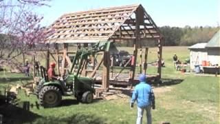 """Scott Bell's Eagle Project Part Ii """"barn Demo"""""""