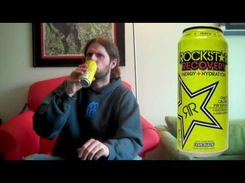 sodagiant Episode 53: Rockstar Recovery Energy Drink Review