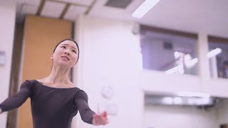 La Sylphide: Rehearsal Teaser with Rina Kanehara | English National Ballet