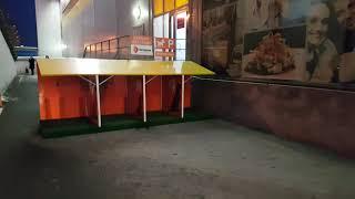 Парковка для собак у торгового центра Остров в Тюмени