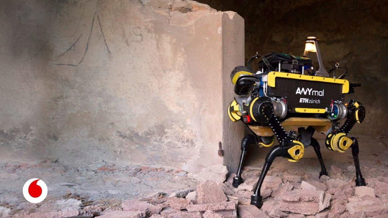 ANYmal, el robot de cuatro patas todoterreno