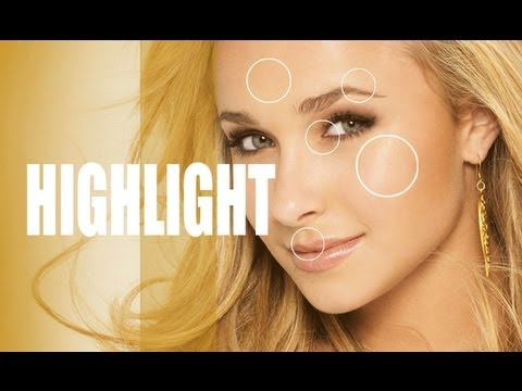 GET GLOWING SKIN LIKE HAYDEN PANETTIERE! THE BEST PLACES TO HIGHLIGHT YOUR FACE!