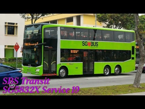 SBS Transit - SG5832X on Service 19 (Tampines Ave 7 ...