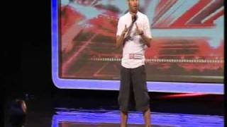 X-Factor Audition (HQ) Danyl Johnson - With A Little Help From My Friends