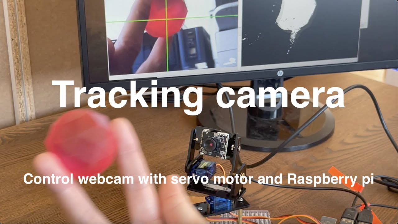 【Introduction to python】Tracking camera with Raspberry Pi