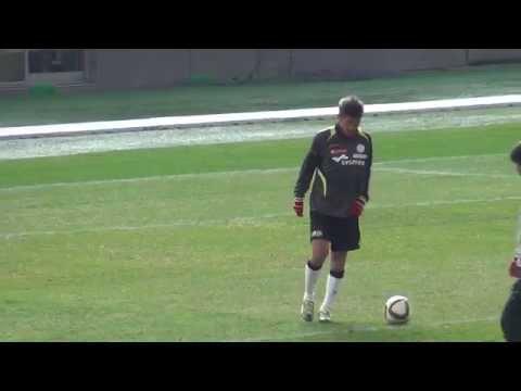 Kazuyoshi Miura  20150117 Charity match Warming-up