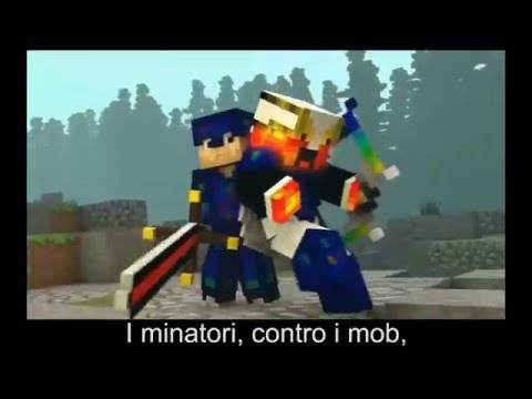 "Minecraft: ♪ ""I Am Believing"" (Sub. ITA) (I Gotta Feeling Parody)"
