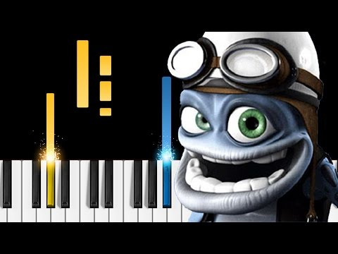 Crazy Frog - Axel F - Piano Tutorial - How to play the Crazy Frog song