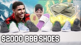 WE BOUGHT $2,000 of Big Baller Brand SHOES! LaMelo's & Lonzo's Shoes!