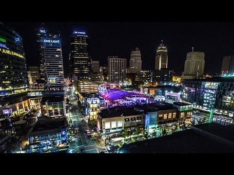 Kansas City, Missouri Aerial View 2016