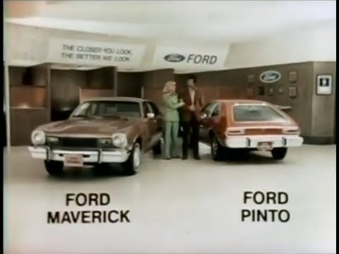 '75 Ford Maverick & Pinto Commercial (1974)