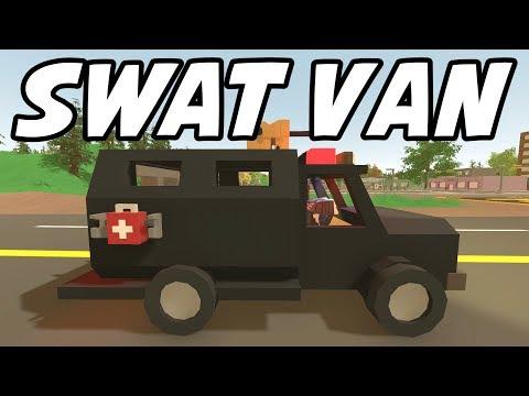 Unturned - HEAT Armor SWAT Van! (Featured Mod Roleplay)