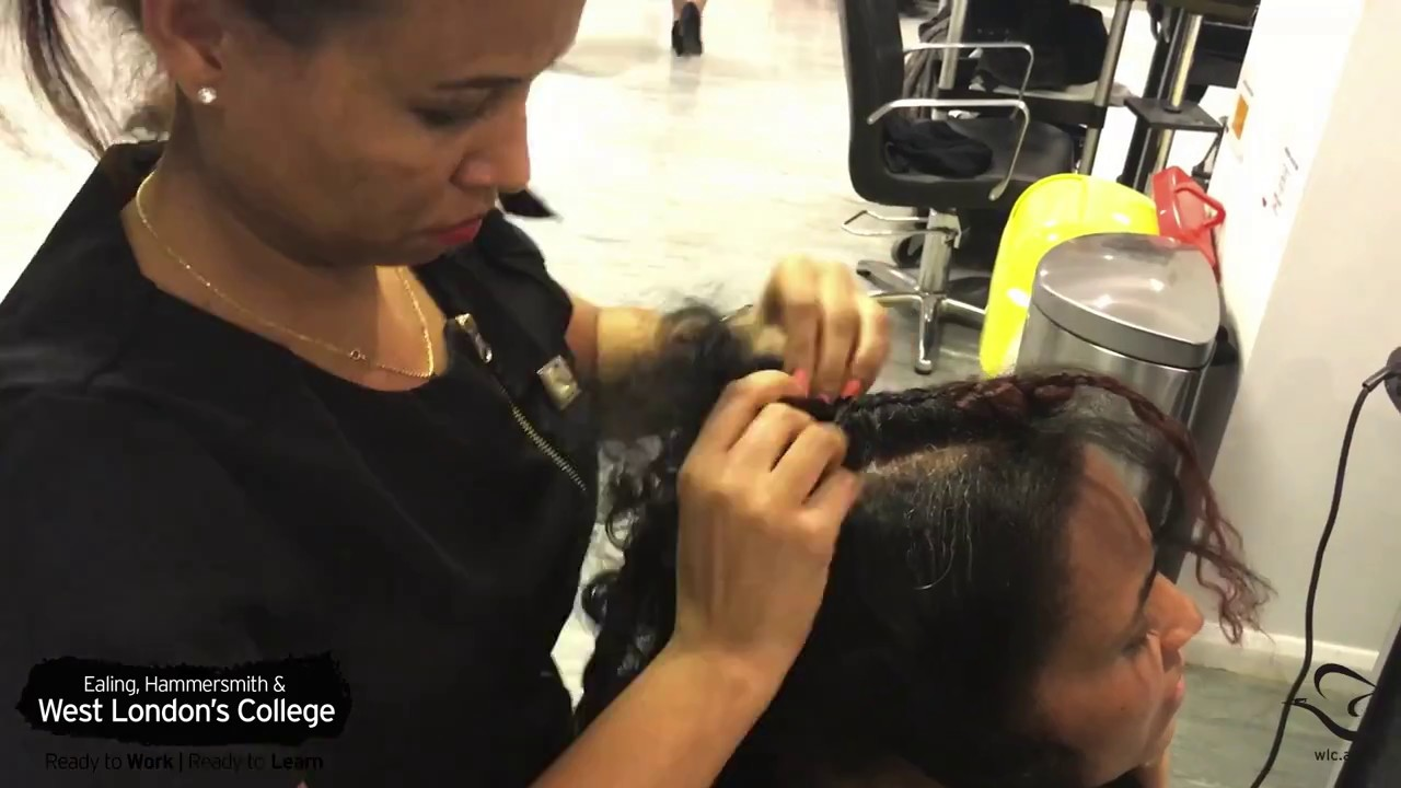 Showcasing Talent: Albaso Hairstyle. West London College