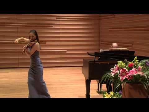 Kinga Augustyn plays Brahms Hungarian Dance No. 1- LIVE at DiMenna Center
