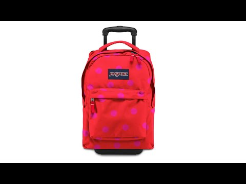 2014 Best Jansport Superbreak Wheeled Backpack Collections - YouTube