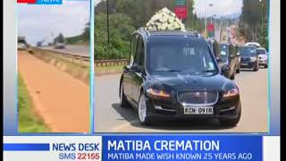 Video Remains of the late liberation icon Kenneth Matiba will be cremated in fulfillment of his dying wish download MP3, 3GP, MP4, WEBM, AVI, FLV Oktober 2018