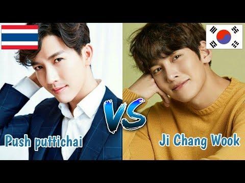 Thai Actor Vs Korean Actor || Push puttichai Vs Ji Chang Wook || Who More handsome ?