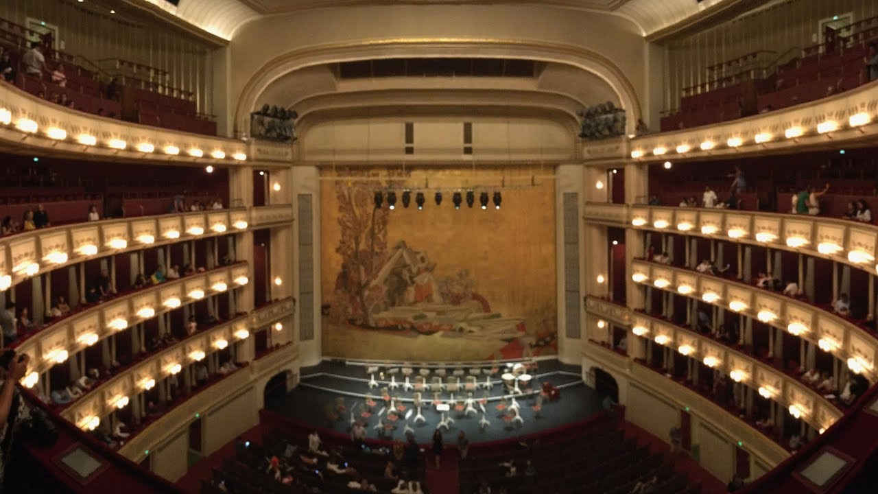 Vienna State Opera House Wiener Staatsoper Vienna Austria4k