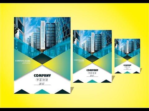 Corel Draw x7- Tutorial Business brochure Design best tips  trick