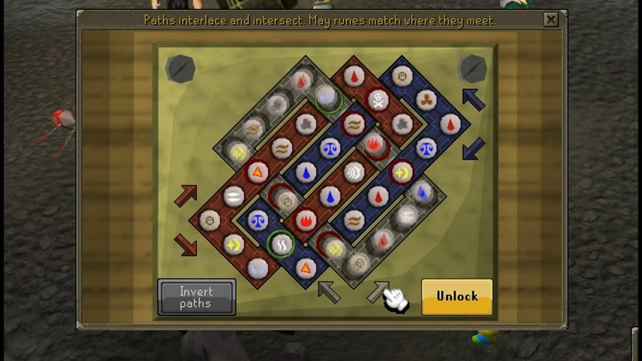 Runescape - Elite Clue Reward Celtic Knot Puzzle