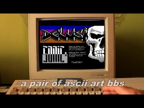Commodore Amiga BBS - Bulletin board system