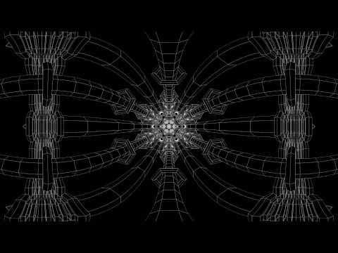 Mandala Zoom Portal (4K Stereoscopic 360 VR)