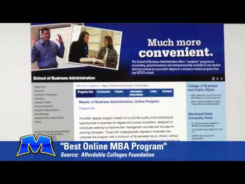 Master's of Business Administration online