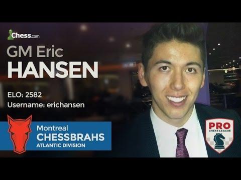 PRO Chess League Semi-Finals: ChessBrah Eric Hansen's 7 Minutes In Hell
