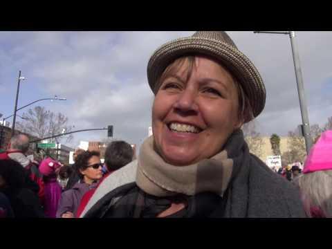 Present! - Women's March 2017 in San Jose, California