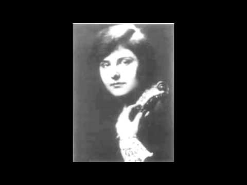 "Bach, ""Double"" Violin Concerto in d minor Mov III (Arnold and Alma Rosé) 1928"
