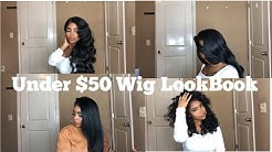 Affordable Wig LookBook   All Wigs Under $50!!