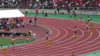 女子 400mH 予選7組 関本萌香 1:00.80 予選7 女子400mH 高校総体陸上201...