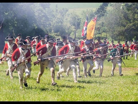 Revolutionary War Reenactment 240th Monmouth