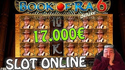 SLOT ONLINE - Torna la BOTTA alla BOOK OF RA 6! 📕🤠 (Vincita 17.000€)