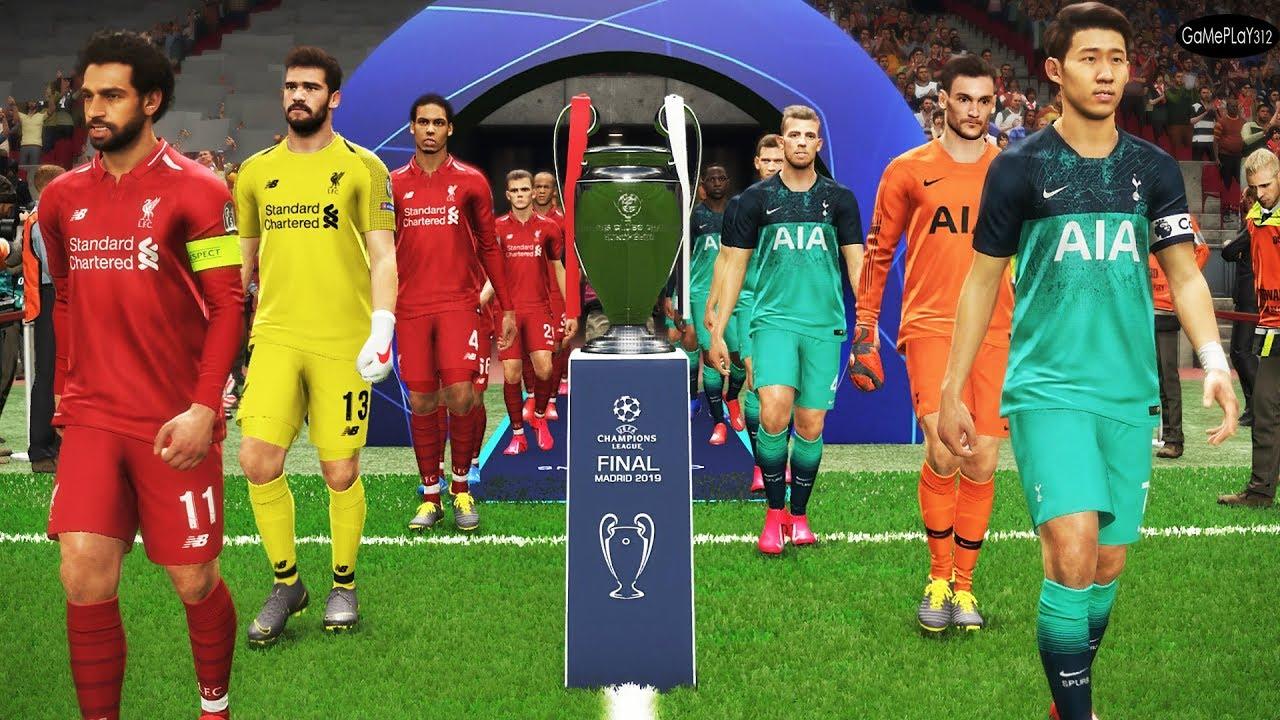 Tottenham vs Liverpool - Final UEFA Champions League UCL ...